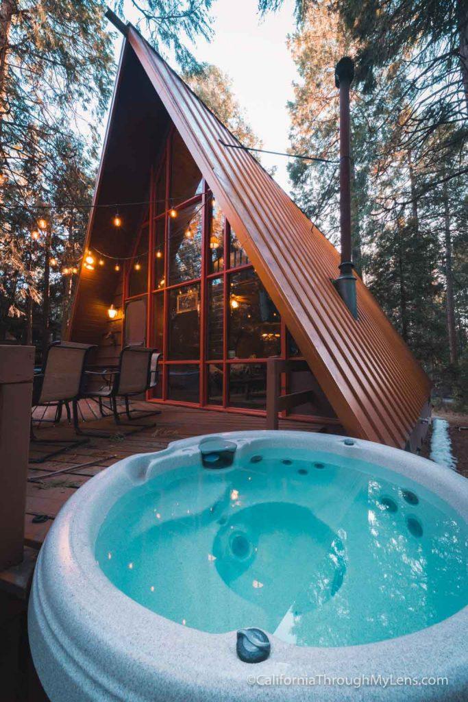 Idyllcreek A Frame Cabin In Idyllwild California Through
